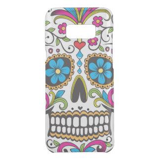 Capa Para Samsung Galaxy S8+ Da Uncommon Crânio colorido dos doces