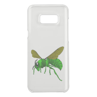 Capa Para Samsung Galaxy S8+ Da Uncommon Desenhos animados verdes e abelha da vespa do