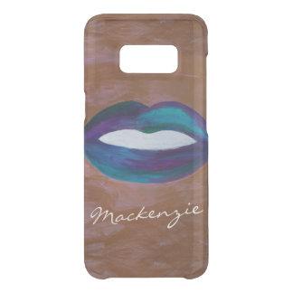Capa Para Samsung Galaxy S8 Da Uncommon Diva conhecida Amorous do batom do beijo XOXO dos