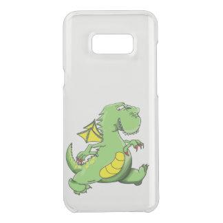 Capa Para Samsung Galaxy S8+ Da Uncommon Dragão verde dos desenhos animados que anda em