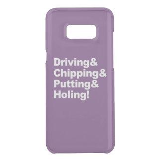 Capa Para Samsung Galaxy S8+ Da Uncommon Driving&Chipping&Putting&Holing (branco)