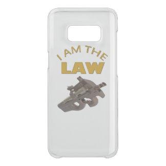 Capa Para Samsung Galaxy S8 Da Uncommon Eu sou a lei com uma metralhadora m4a1