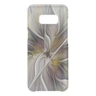 Capa Para Samsung Galaxy S8 Da Uncommon Fractal floral, flor da fantasia com cores de