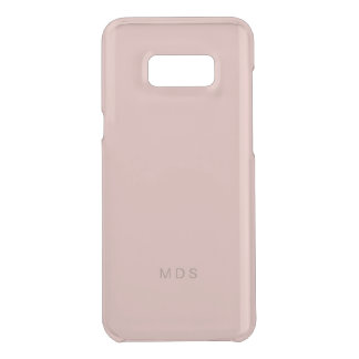 Capa Para Samsung Galaxy S8+ Da Uncommon Galáxia milenar S8 de Samsung do rosa do rosa mais