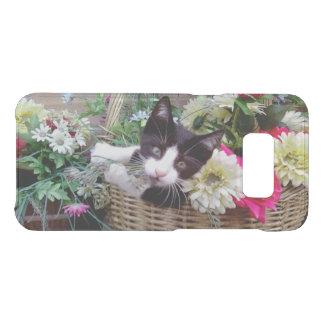 Capa Para Samsung Galaxy S8 Da Uncommon Gatinho em uma cesta