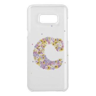 Capa Para Samsung Galaxy S8+ Da Uncommon letra inicial C