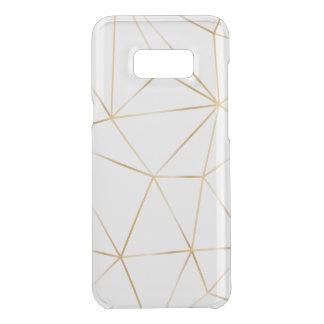 Capa Para Samsung Galaxy S8+ Da Uncommon linha caso do ouro do polígono