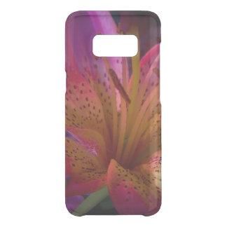 Capa Para Samsung Galaxy S8 Da Uncommon Lírio cor-de-rosa - confusão bonita