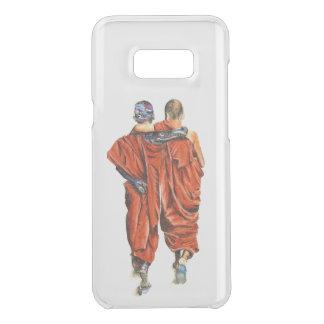 Capa Para Samsung Galaxy S8+ Da Uncommon Monges budistas