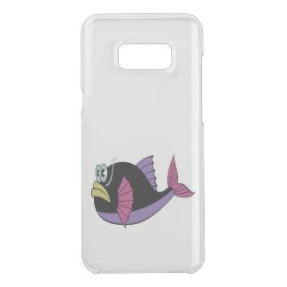 Capa Para Samsung Galaxy S8+ Da Uncommon Multi peixes roxos e pretos do soprador da cor