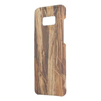 Capa Para Samsung Galaxy S8+ Da Uncommon O cedro Textured o olhar de madeira do latido
