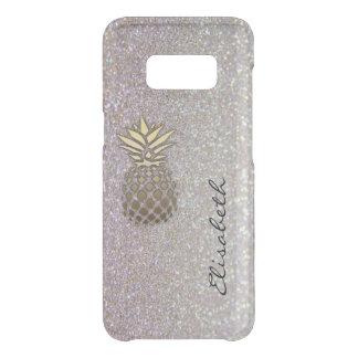 Capa Para Samsung Galaxy S8 Da Uncommon O chique elegante moden o abacaxi glittery do