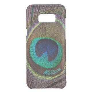 Capa Para Samsung Galaxy S8+ Da Uncommon Olho bonito da pena do pavão, seu nome