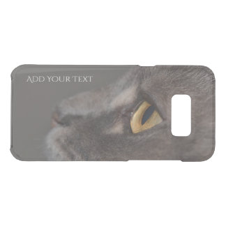 Capa Para Samsung Galaxy S8+ Da Uncommon Olho-Macro do gato por Shirley Taylor
