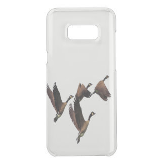 Capa Para Samsung Galaxy S8+ Da Uncommon Os gansos canadenses que voam em um rebanho caçoam