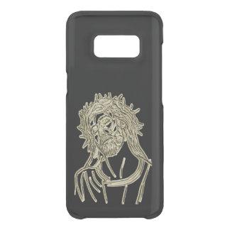 Capa Para Samsung Galaxy S8 Da Uncommon Ouro Jesus que olha acima ao deus que cintila