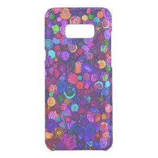 Capa Para Samsung Galaxy S8+ Da Uncommon Padrões espirais coloridos bonitos do cosmos