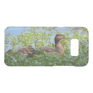 Capa Para Samsung Galaxy S8+ Da Uncommon Pato selvagem e Patinho-Natação por Shirley Taylor