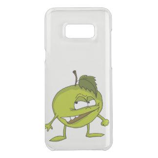 Capa Para Samsung Galaxy S8+ Da Uncommon Personagem de desenho animado verde da maçã com um