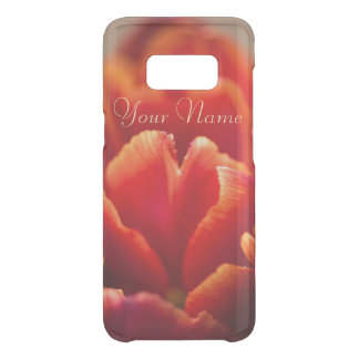 Capa Para Samsung Galaxy S8 Da Uncommon Pétalas vermelhas bonito da tulipa. Adicione seu