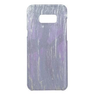Capa Para Samsung Galaxy S8+ Da Uncommon Prata roxa desiludida | da ameixa violeta da