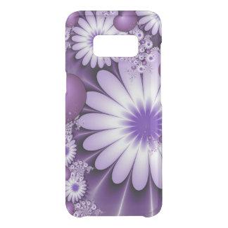 Capa Para Samsung Galaxy S8 Da Uncommon Queda no Fractal das flores & dos corações do