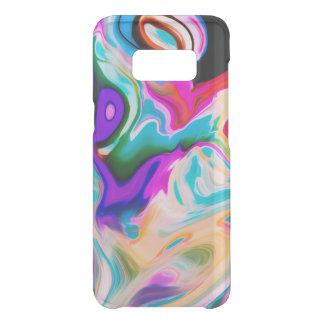 Capa Para Samsung Galaxy S8 Da Uncommon Redemoinhos coloridos abstratos modernos 3 do