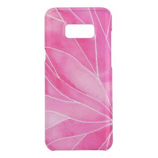 Capa Para Samsung Galaxy S8+ Da Uncommon Ruptura do Watercolour do rosa quente