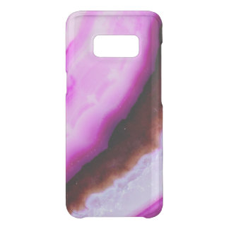 Capa Para Samsung Galaxy S8 Da Uncommon Série de pedra preciosa - ágata no roxo