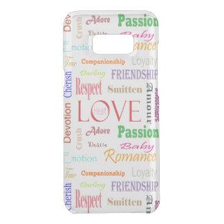 Capa Para Samsung Galaxy S8+ Da Uncommon Sinónimos do amor por Shirley Taylor