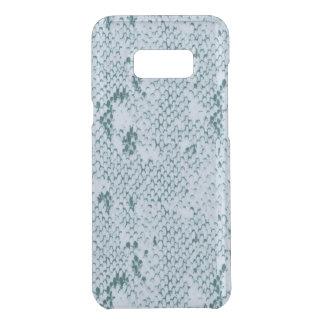 Capa Para Samsung Galaxy S8+ Da Uncommon Snakeskin azul e branco fabuloso