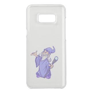 Capa Para Samsung Galaxy S8+ Da Uncommon Sorceress roxo mágico do mágico do feiticeiro