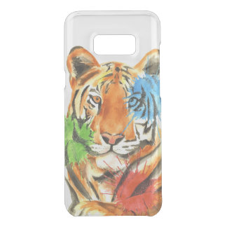 Capa Para Samsung Galaxy S8+ Da Uncommon Splatter do tigre