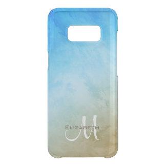 Capa Para Samsung Galaxy S8 Da Uncommon surf da areia e beira-mar abstrato do céu