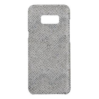 Capa Para Samsung Galaxy S8+ Da Uncommon Teste padrão do preto e da pele de cobra de Brown