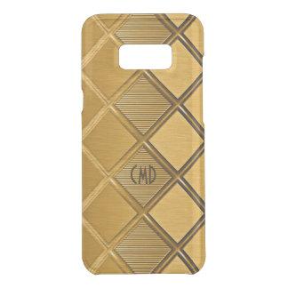 Capa Para Samsung Galaxy S8+ Da Uncommon Teste padrão geométrico do ouro metálico