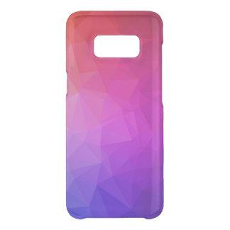 Capa Para Samsung Galaxy S8 Da Uncommon Teste padrão geométrico moderno roxo 3 de Ombre