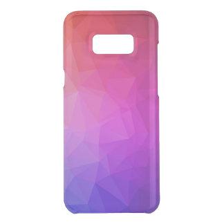 Capa Para Samsung Galaxy S8+ Da Uncommon Teste padrão geométrico moderno roxo de Ombre