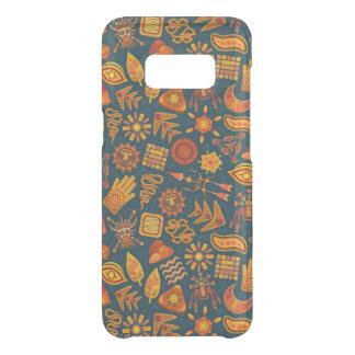 Capa Para Samsung Galaxy S8 Da Uncommon Teste padrão tribal
