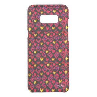 Capa Para Samsung Galaxy S8+ Da Uncommon Trajeto do coração