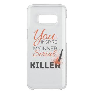 Capa Para Samsung Galaxy S8 Da Uncommon Você inspira meu assassino em série interno