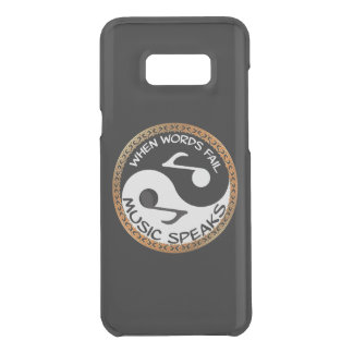 Capa Para Samsung Galaxy S8+ Da Uncommon Yin Yang com palavras da música