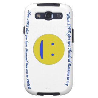 Capa Personalizadas Samsung Galaxy S3 Sorriso à vida