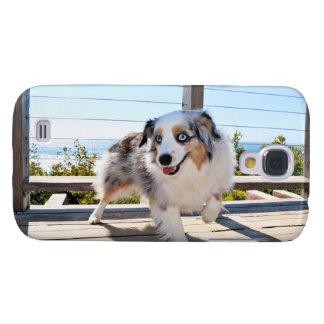 Capa Samsung Galaxy S4 Bennett - mini australiano - Rosie - praia de