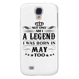 Capa Samsung Galaxy S4 Camiseta das legendas do mês de maio