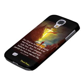 Capa Samsung Galaxy S4 Caso do 3:16 de John