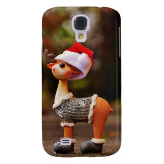 Capa Samsung Galaxy S4 Decorações da rena - rena do Natal