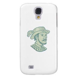 Capa Samsung Galaxy S4 Desenho do explorador de Juan Ponce de Leon
