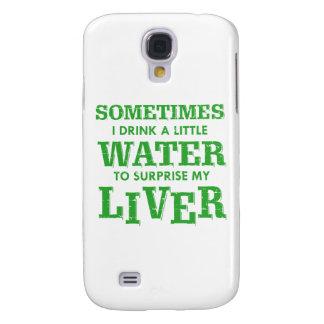 Capa Samsung Galaxy S4 Design engraçado do fígado