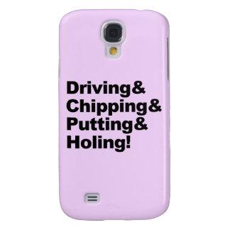 Capa Samsung Galaxy S4 Driving&Chipping&Putting&Holing (preto)